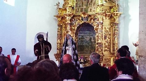 Imágenes en la Iglesia