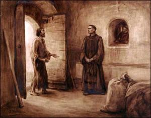 Franscisco y Bernardo de Quintavalle