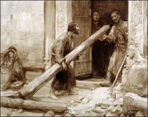Reconstruyendo la iglesia de San Damián