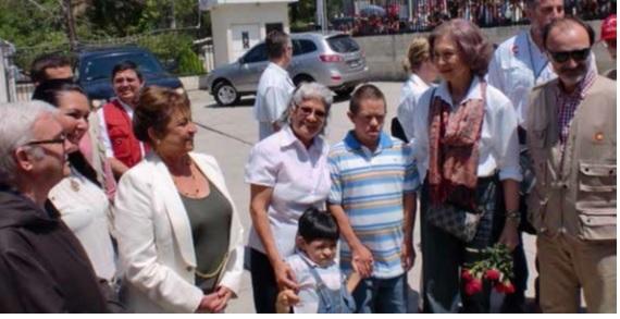 Visita de la Reina a Guatemala