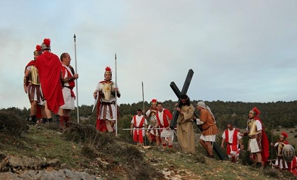 Cristo subiendo al Calvario