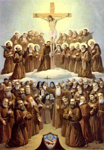 santos-de-la-orden-franciscana